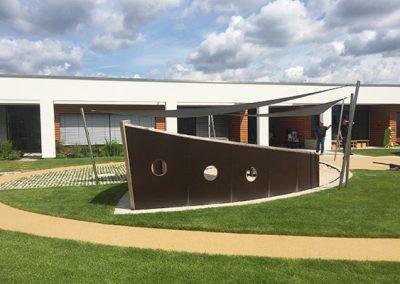 Holzschiff für die Kindertagesstätte
